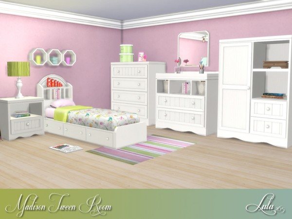 The Sims Resource: Madison Tween Bedroom By Lulu265 • Sims