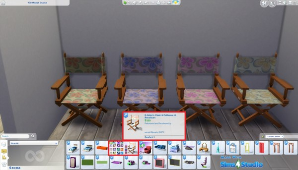 Mod The Sims: D Listers Chair recolored by wendy35pearly