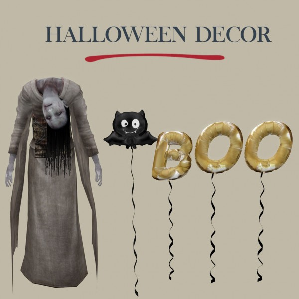 Leo 4 Sims Halloween Decor Sims 4 Downloads