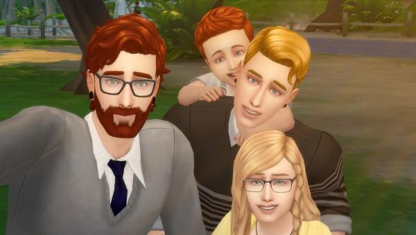 David Veiga: Selfie poses for dad and kids