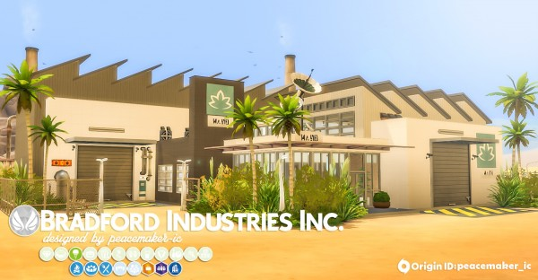 Simsational designs: Bradford Industries