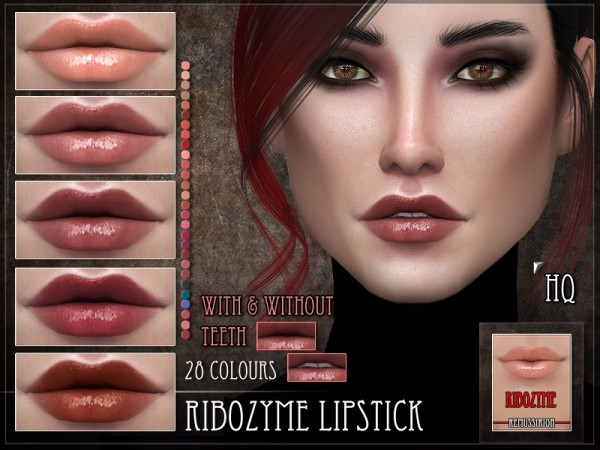 The Sims Resource: Ribozyme Lipstick by RemusSirion