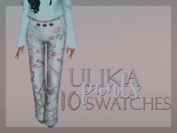 Ulika: Crystal pants