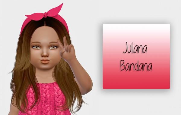 Simiracle: Juliana Bandana   Toddler Version