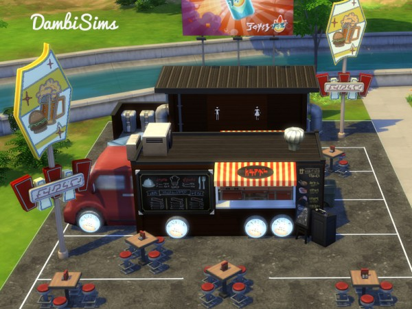 Sims  Food Truck Buy Mode