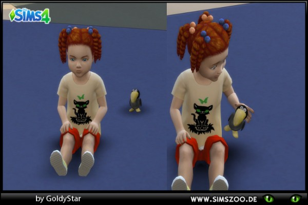 Blackys Sims 4 Zoo: Stand up toy by GoldyStar