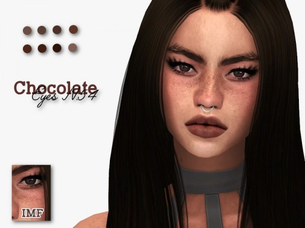 The Sims Resource: Chocolate Eyes N.54 by IzzieMcFire