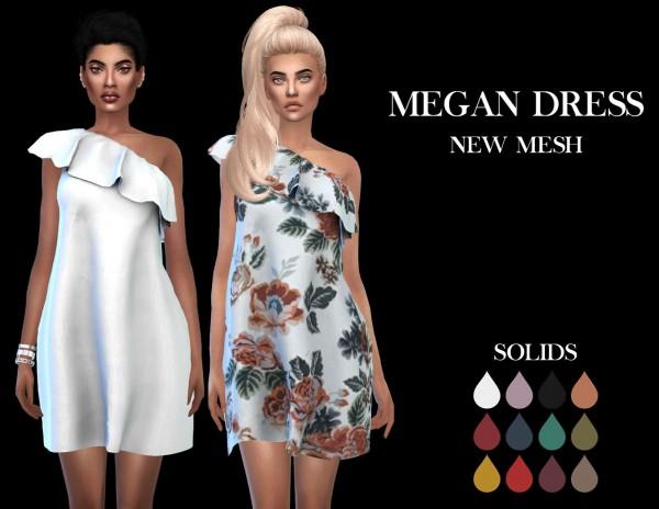 Leo 4 Sims: Megan dress recolored