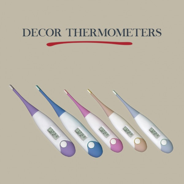 Leo 4 Sims: Decor Thermometers