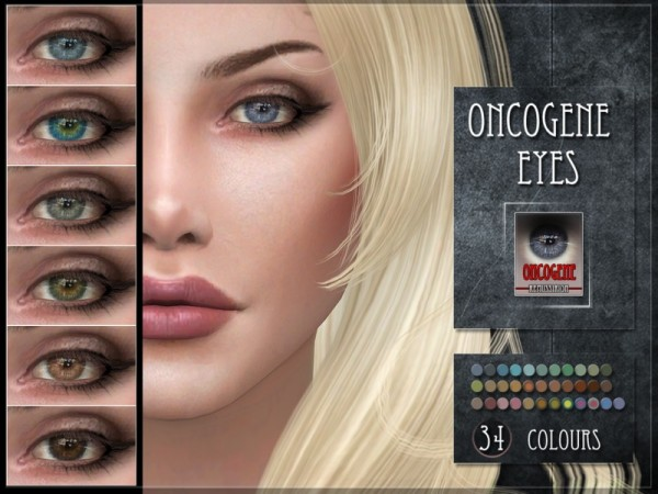 The Sims Resource: Oncogene Eyes by RemusSirion