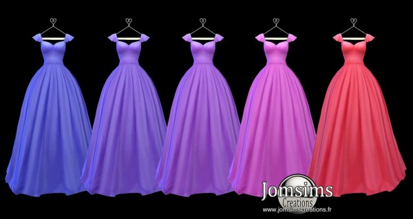 Jom Sims Creations: Lediane dress