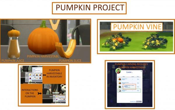 Mod The Sims: The Pumpkin Project by icemunmun