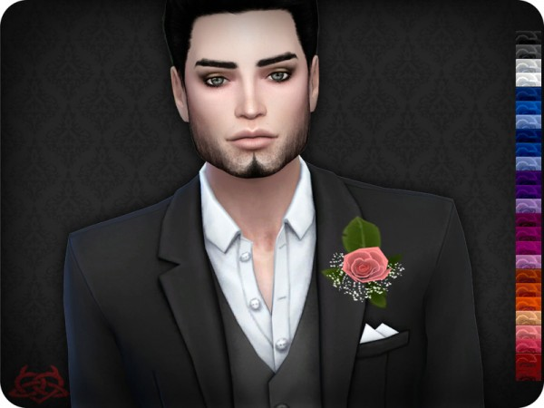 The Sims Resource: Boutonniere 1 by Colores Urbanos
