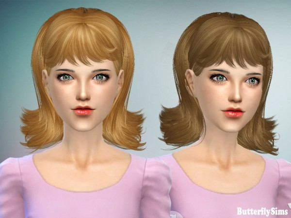 Butterflysims: B flysims 064 free hairstyle   No hat