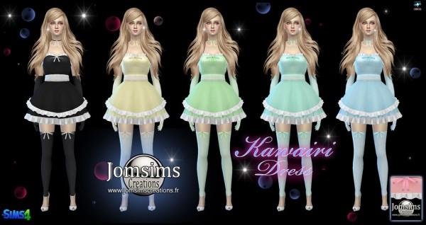 Jom Sims Creations: Kawairi dress
