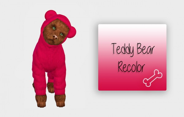 Simiracle: Teddy Bear   Small Dog   Recolor