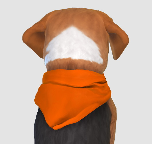 Simiracle: Handkerchief Small Dog Recolor