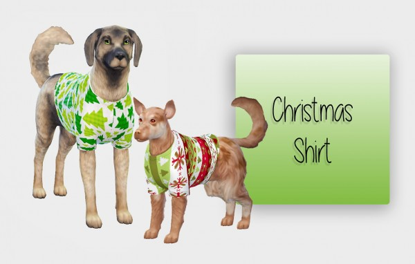 Simiracle: Christmas Shirt For Your Dogs