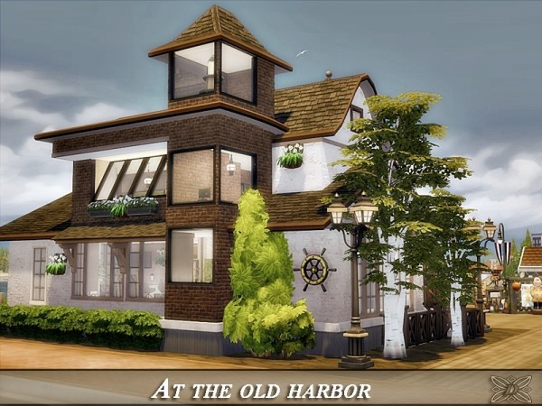 The Sims Resource: At the old harbor house by Danuta720