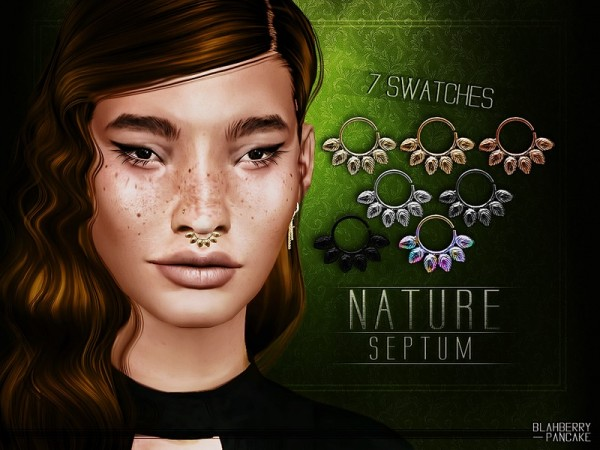The Sims Resource: Nature Septum by Blahberry Pancake