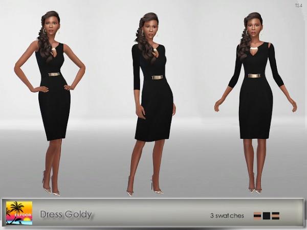 Elfdor: Dress Goldy recolored