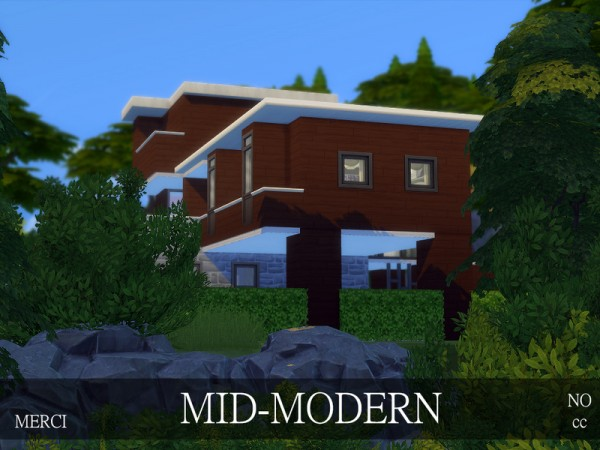 The Sims Resource: Mid Modern   no cc by Merci