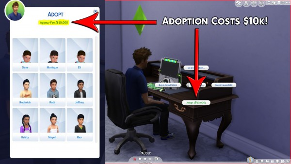 Simsworkshop: Adoption Costs by Simstopics