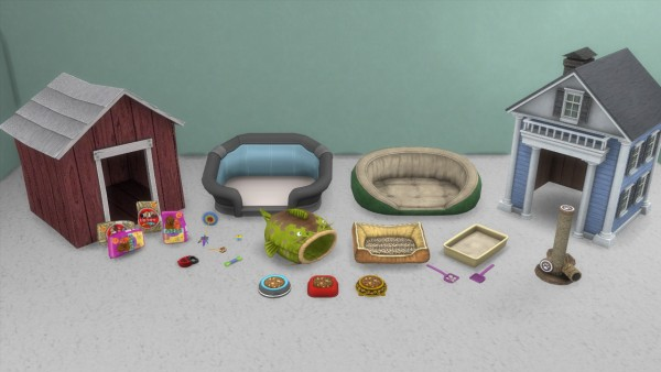 Enure Sims: Cats and Dogs Stuff