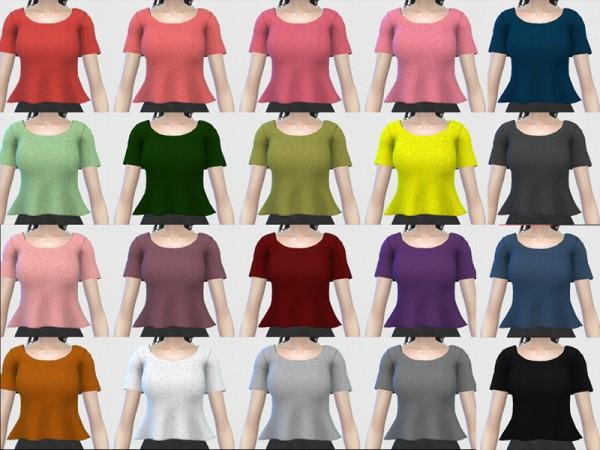 The Sims Resource: Orisa Top by Nisuki