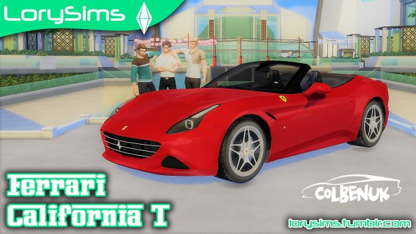 Lory Sims: Ferrari California T