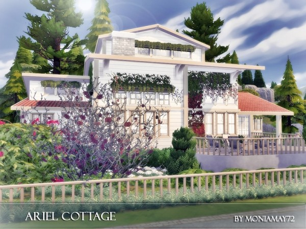 The Sims Resource: Ariel Cottage by Moniamay72