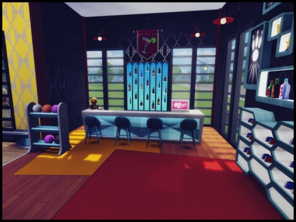 The Sims Resource: Sandy Run Bowling Center by Terramoon