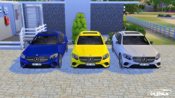 Lory Sims: Mercedes Benz GLC Coupe