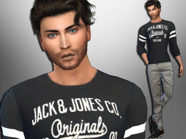 The Sims Resource: Gerald Galvin by divaka45
