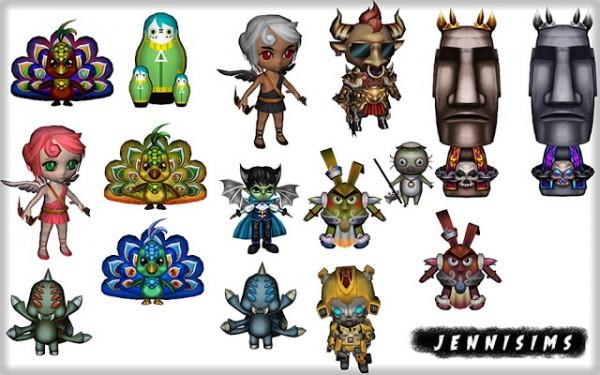 Jenni Sims: Set Vol 86 Decor