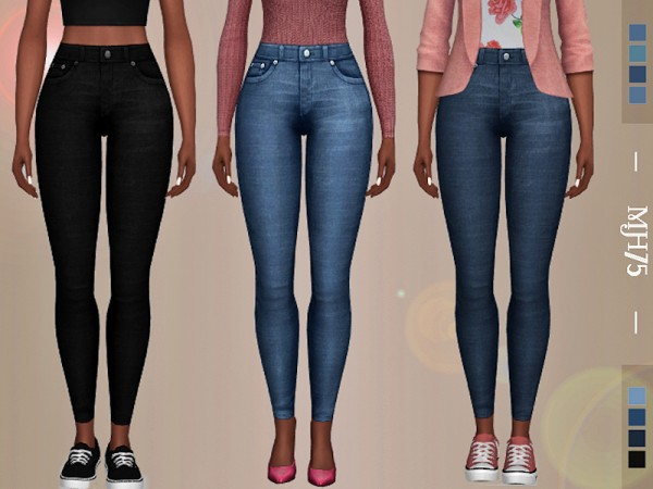 The Sims Resource: Genie Jeans by Margeh 75