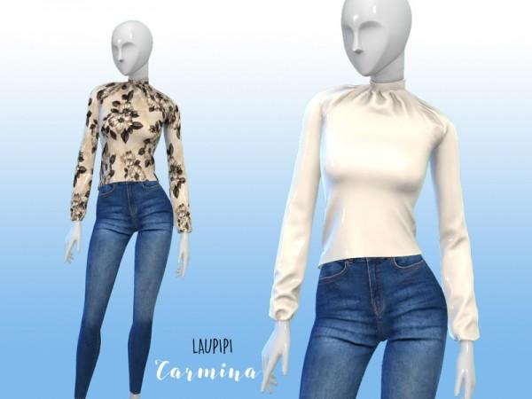 The Sims Resource: Carmina shirt by Laupipi
