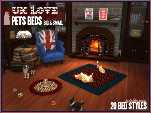 Akisima Sims Blog: UK LOVE – Pets Beds