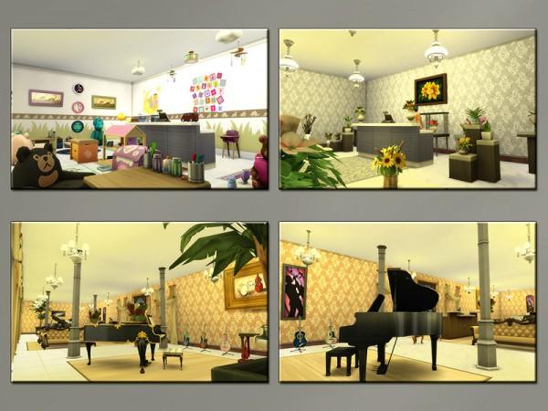 The Sims Resource: Casbah Shopping Center by matomibotaki