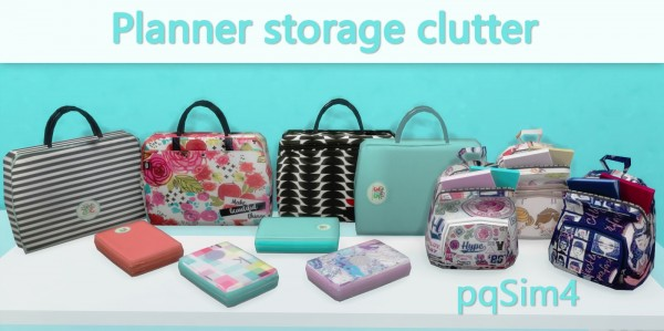 PQSims4: Planner Storage Clutter