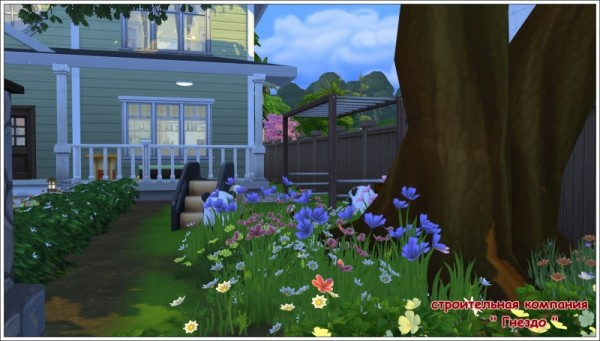 Sims 3 by Mulena: The house Fuksus