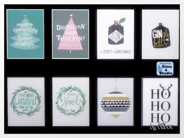All4Sims: Pictures for Christmas by  Oldbox