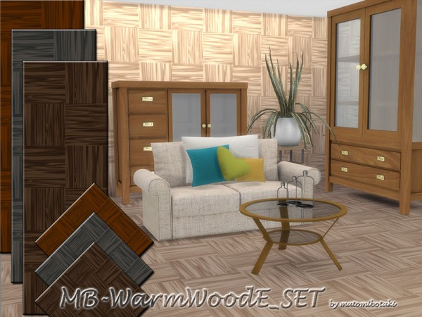 The Sims Resource: Warm Wood E by matomibotaki