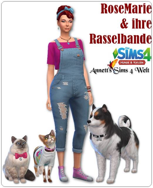 Annett`s Sims 4 Welt: Rose Marie and her rascals