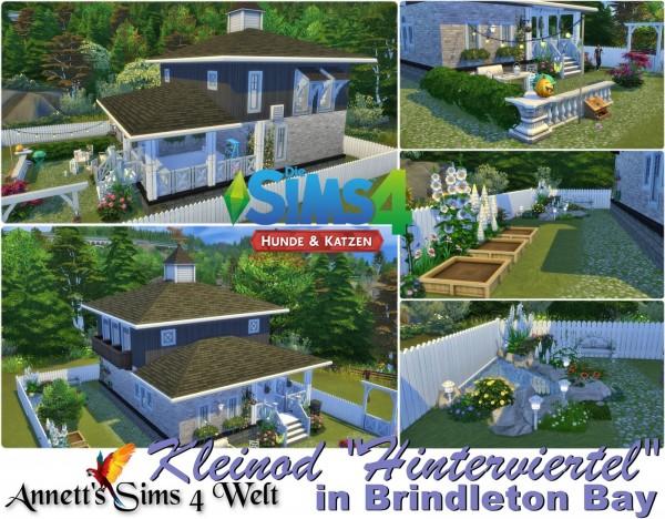 Annett`s Sims 4 Welt: Gem hindquarter in Brindleton Bay   No CC