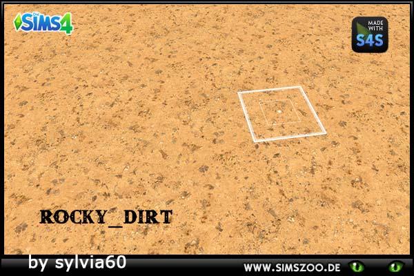 Blackys Sims 4 Zoo: Rocky Dirt by sylvia60