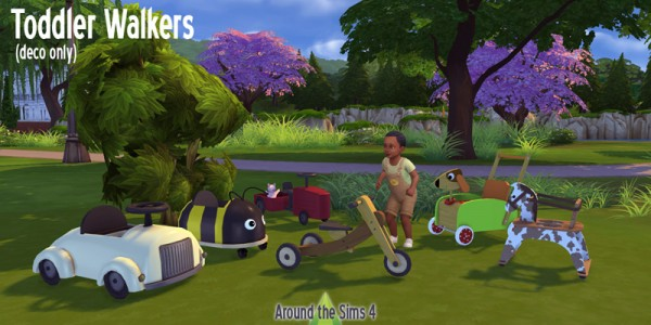 Around The Sims 4: Tolddler Walkers