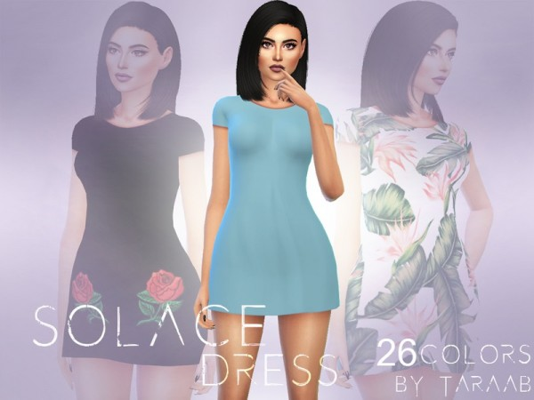 The Sims Resource: Solace Dress by taraab