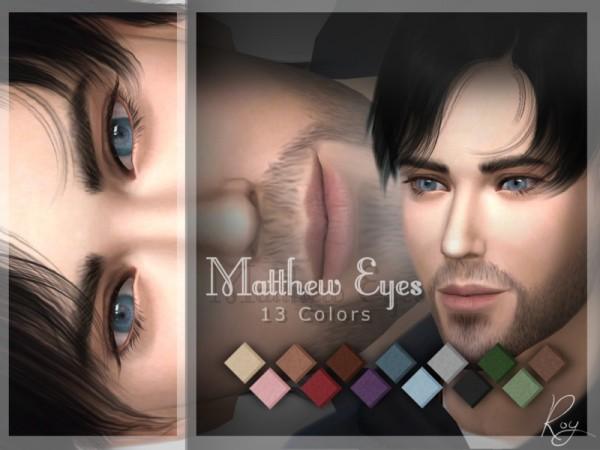 The Sims Resource: Matthew Eyes by RoyIMVU