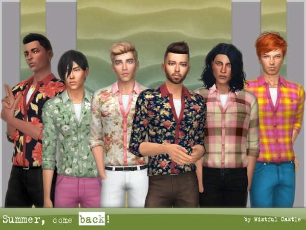 The Sims Resource: Summer, come back! top by WistfulCastle